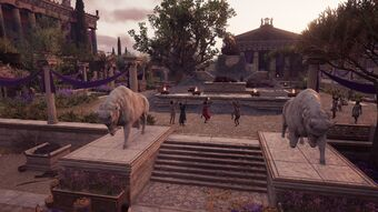 Altar Of Zeus Assassin S Creed Wiki Fandom