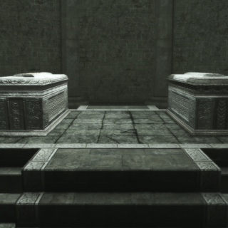 墓穴里的石棺