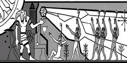 Cripta Vaticana immagine guerra Umani-Prima Civilizzazione