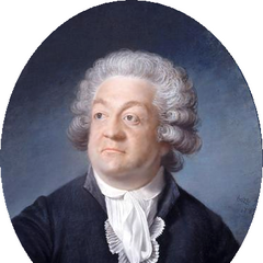 A painting of Mirabeau