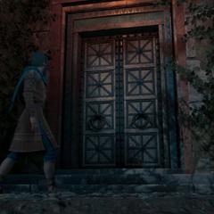 希罗多德和卡珊德拉在神教大门前