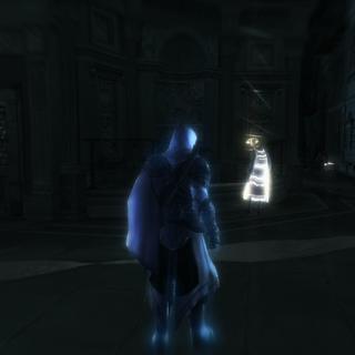 Ezio localisant l'érudit