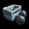 ACRO Compartiment à boulets explosifs renforcé