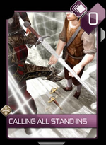 ACR Calling All Stand-Ins