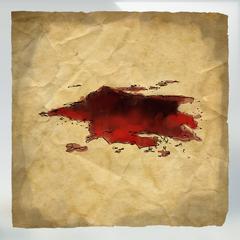 Traînée de sang