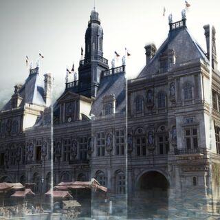 L'<b>Hôtel de Ville</b> dans la <a href=
