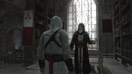 Al Mualim daje Altaïrowi szansę na odkupienie