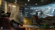 Assassin's Creed IV Black Flag Abstergo Entertainment Concept Art by EddieBennun