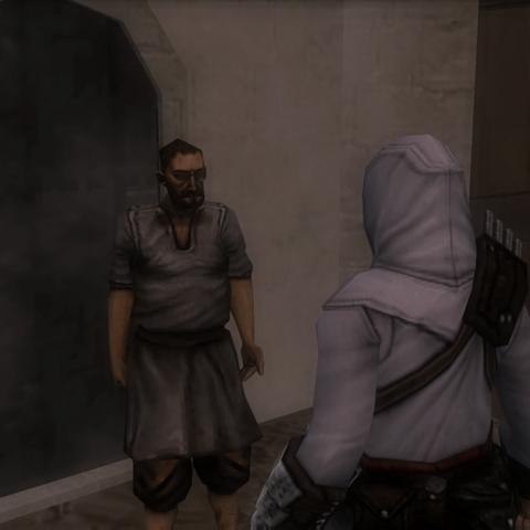 男子告诉阿泰尔忒勒马科斯的事