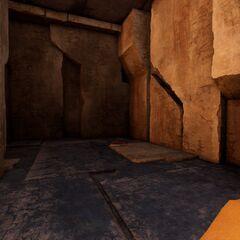 走廊邊的一個房間