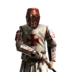 A Templar knight
