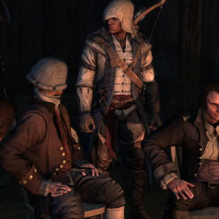 Revere telling the others to escape