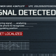 Details on the detected signal.