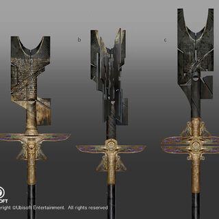亚历山大权杖的原设图