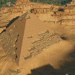 俯瞰金字塔
