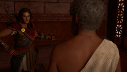 ACOD Speak No Evil - Kassandra Questioned Mydon