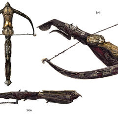 Concept art of the Ottoman crossbow