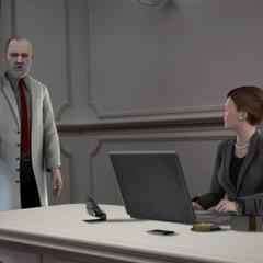 韦迪克和利蒂西娅·英格兰向伯格下达指示