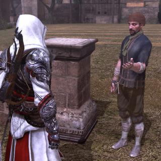 Le voleur réclamant l'aide d'Ezio