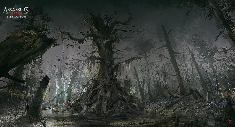 Assassins creed iii conceptart TREE