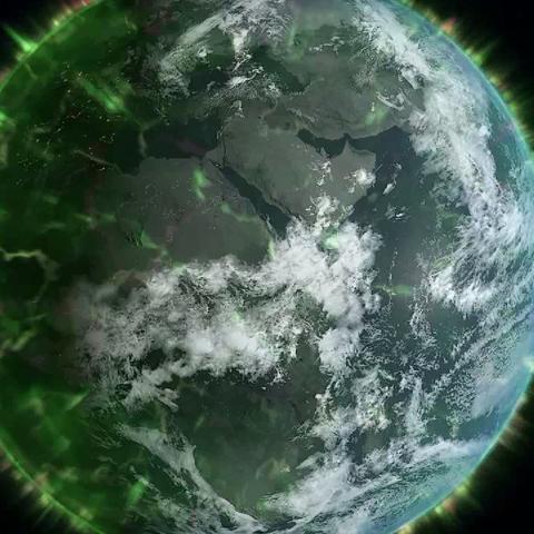 2012日冕物質拋射期間的地球