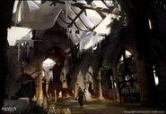 ACIV Église Ruines concept