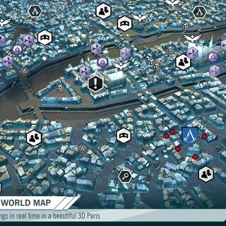 Promotional image of game map