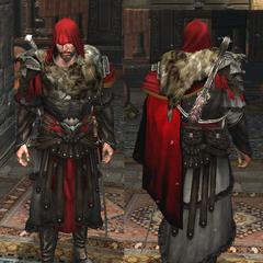 Ezio avec l'<b>Armure de Brutus</b> dans <i><a href=