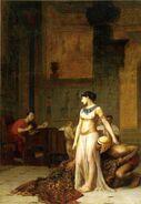 Cléopâtre et César par Jean-Léon Gérôme