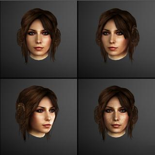 克里斯蒂娜脸部模型
