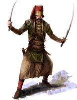Osmański zwinny strażnik