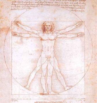 Renaissance--haute--Leonard-de-Vinci-vitruve