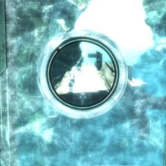 De barrière schermt de binnenkamer af van de Tempel