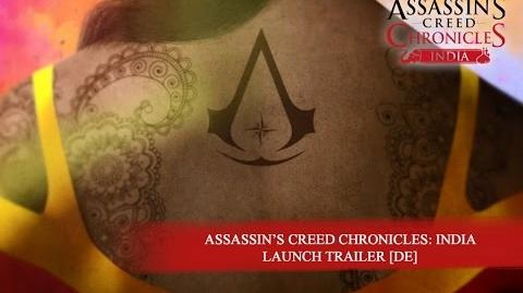 Assassin's Creed Chronicles India – Launch Trailer DE