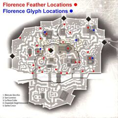 A map of Florence