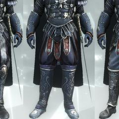 The Gladiator's legs