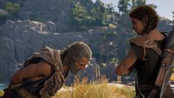 The Big Break - Barnabas and Kassandra meet - Assassins Creed Odyssey