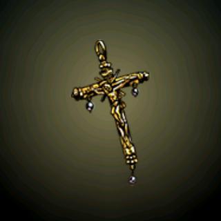 脏乱的十字耶稣像 - 一名虔诚的<a href=