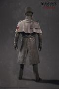 ACS Templar Enforcer Model - Back View