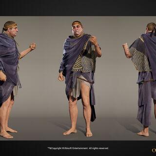 欧多拉斯的人物模型