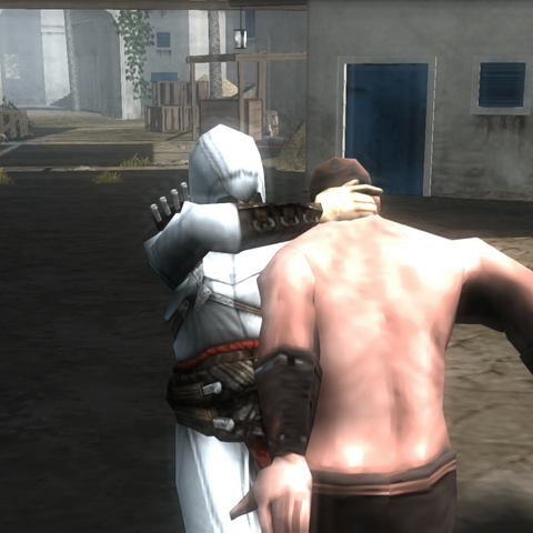 阿泰尔刺杀卫兵