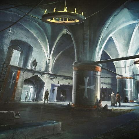 堡垒围墙的原设图