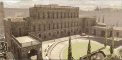 Épületek Palazzo Pitti