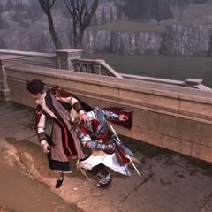 Ezio corrigeant le dernier ambassadeur