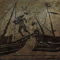 一個西里亞海盜的繪圖