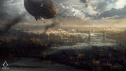 ACS London Zeppelin - Concept Art