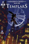 Templars comic cover A