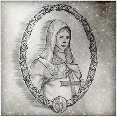 Altaïr's hand-drawn picture of Maria