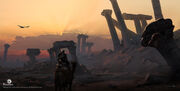 ACO Ruins Concept Art 1 - Martin Deschambault