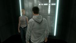 Desmond Lucy ascensore Abstergo